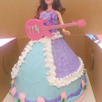 Barbie Doll Cake barbie doll cake