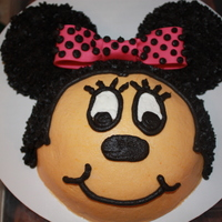 Minnie Mouse minnie mouse smash cake