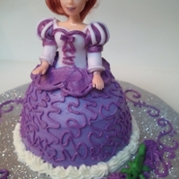 Princess Mini Doll Cake