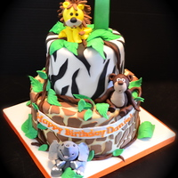 My 4Th Icing Smiles Call To Action This Year Came On Christmas Eve For A Fun Jungle Themed Birthday Cake All Fondant All Edible My 4th Icing Smiles call to action this year came on Christmas Eve for a fun jungle themed birthday cake. All fondant, all edible.