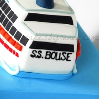 50Th Bday Cruise Ship Cake