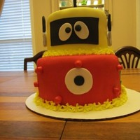 Yo Gabba Gabba Birthday Cake The person who wanted this cake actually found a picture from CC and asked me to duplicate it. I do not know who that person was as she...