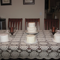 Mini Wedding Cake Samplers