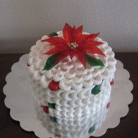 Vanilla Cake Soaked In Brandy Rasperry Filling Gelatin Poinsettia Made For The Community Gathering Cake Inspired By Sharon Brees Zambito Vanilla cake soaked in brandy, rasperry filling, gelatin poinsettia. Made for the community gathering. Cake inspired by Sharon Brees...