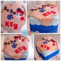 Jake End The Neverland Pirates Birthay Cake Jake end the neverland pirates birthay cake