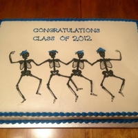Radiology Graduating Class 2012 Full Sheet Cake for a pinning ceremony