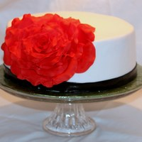 Rose Cake Inspired by a cake from Ron Ben Israel - always wanted to try this one!