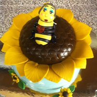 Spring Bee Cake Inspired by Andrea's sweet cakes.