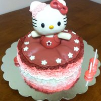 Ballerina Hello Kitty Cake