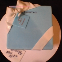 Tiffany & Co. Theme Cake