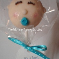 Baby Shower Cake Pop