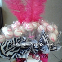 Hello Kitty Cake Pop Bouquet
