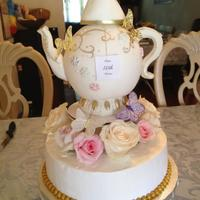 Birthday Cake *Teapot birthday cake!!!