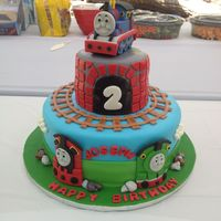 Thomas The Train Fondant Thomas the train fondant
