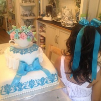 My Daughter Tea Party Cake My daughter tea party cake