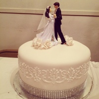 Simple Wedding Cake Simple wedding cake