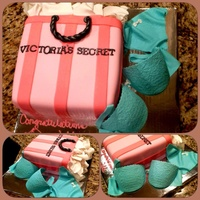Victorias Secret Bag With Edible Bra And Pantie Victoria's Secret bag with edible bra and pantie!