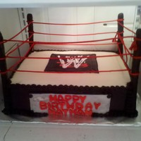 New Wwe Cake I made another WWE Cake I'm happy that this one turned out way better then my last one...