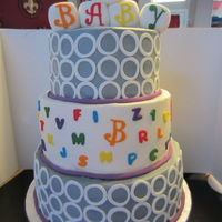Baby Shower Caked Designed From The Invitation Baby Shower caked designed from the invitation