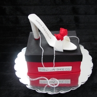 Shoe Cake For My Doctor