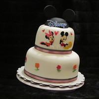 Minnie Amp Mickey Cake minnie & mickey cake