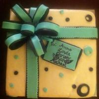 Birthday Present Cake To Several Recipents *