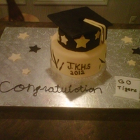 James Kenan H.s Cake For my local H.S. mentor program enjoyed making this one !
