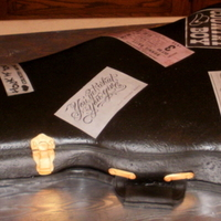Wedding Recpetion Guitar Case Cake Made for the lead singer of a top 100 band, sound tech for Stoney's bar, and Karaoke DJ. Him and his wife were married last month but...