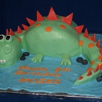 Happy Dinosaur! For a little boy's 5th Birthday
