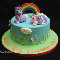 My Little Pony Cake All Decorations Are Hand Made In Fondant With A Little Added Tylo Powder For The Clouds I Used Royal Bakerys Cloud Tu My little pony cake, all decorations are hand made in fondant with a little added tylo powder, for the clouds I used Royal Bakery's...