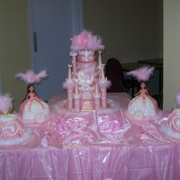 My Gypsy Christening Cake