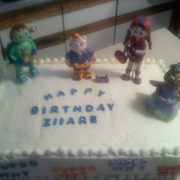 Super Why Cake The Super Why Gang