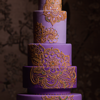 Mehndi Design Cake For Traditions Magazine Mehndi design cake for Traditions magazine!