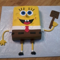 Sponge Bob Square Pants   Sponge Bob Square pants, cartoon cake