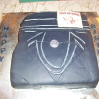 True Religion Jeans Cake in Rolled Fondant with edible label