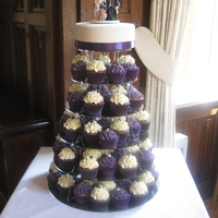 My First Wedding Cupcake Tower