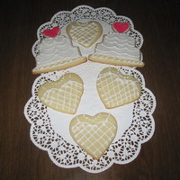 Bride To Be Sugar cookies with royal icing.