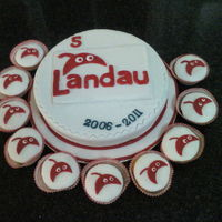 Logo Cake And Cupcakes