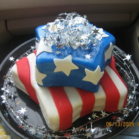 4Th Of July Cake This cake was made for a friend of mine whose husband is in the army. they always have the biggest 4th of July celebration! I carved the...