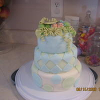 Peas In A Pod Birthday Cake Twin Boys Baby Shower cake