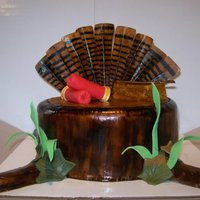 Turkey Hunting Cake