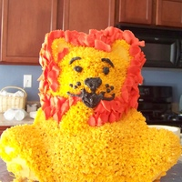 Lion Cake This is a 3D cake, it took me a lot of work and I filled with Dulce de Leche ( argentinen's caramel) . I'd love to read your...