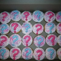 Boy Or Girl Cupcakes Made these for a friend. She revealed to her class what she was having the inside of the cupcakes is filled with either pink or blue. When...