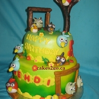 Angry Birds Cake Oakville Ontario By Cakes2Go.ca Angry Birds Cake Oakville Ontario by cakes2go.ca