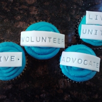 United Way   cupcakes for a united way event