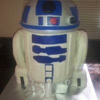 R2 D2   for a star wars fan!