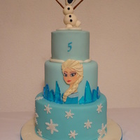 Frozen Cake ice made of isomalt with some gel colouring. Sweet Cakes by Andrea https://www.facebook.com/pages/Sweet-Cakes-by-Andrea/328129687338500?...