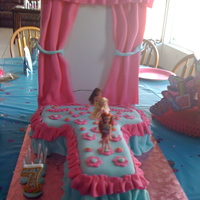 Runway Fashion Cake  Grand daughter had the coolest party. Photos of her and her friends like they were models, and then cake and punch. The girls and even a...