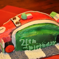 Francesco Bernoulli   Francesco Bernoulli of Cars 2. Made of Italian buttercream