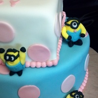"Minion Cake Like Me Casa De Cakes Thank You Minion cake. Like me ""Casa de Cakes""Thank you"